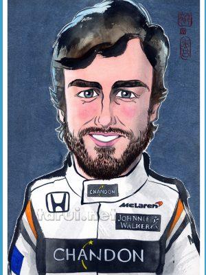 Fernando Alonso / F1 McLaren Honda