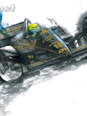 JPS LOTUS 97T Senna